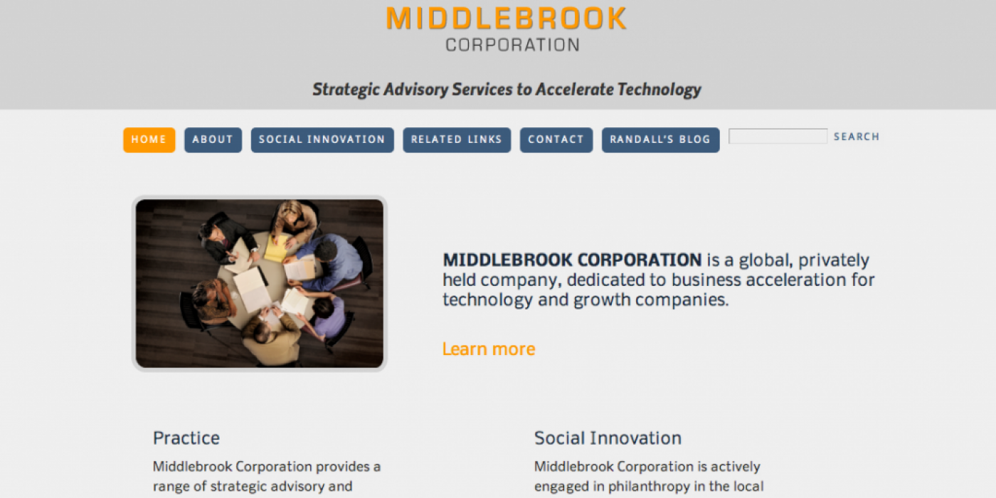 Middlebrook Website