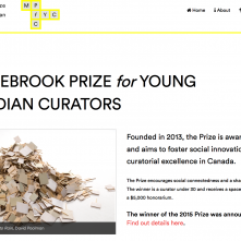 Middlebrook Prize for Young Canadian Curators